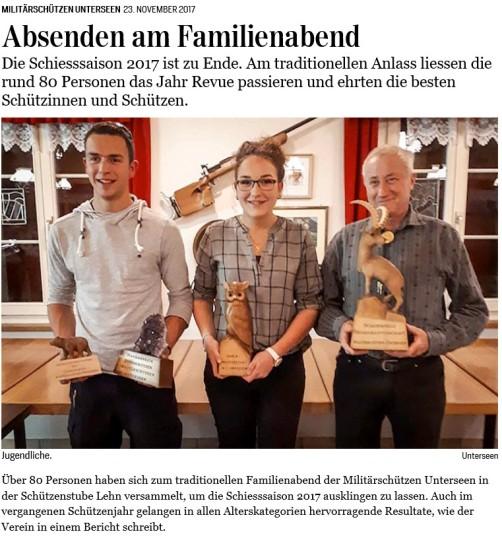 Artikel Jungfrauzeitung